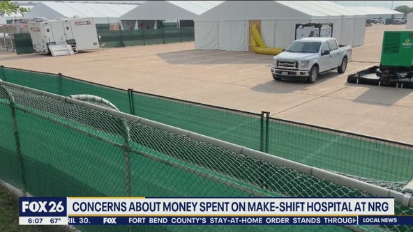 Concerns about the temporary hospital being set up at NRG Park