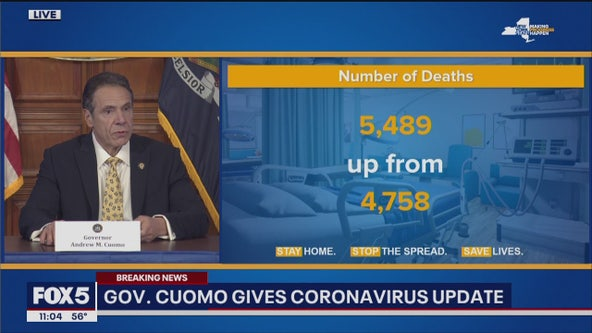 New York sees largest number of coronavirus deaths in single day