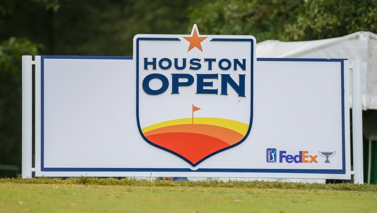 HUMBLE, TX - OCTOBER 11: Overcast morning on tee 2 during Round 1 of the Houston Open on October 11, 2019 at the Golf Club of Houston.