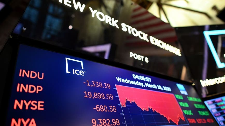 Stock futures rise following 4% tumble