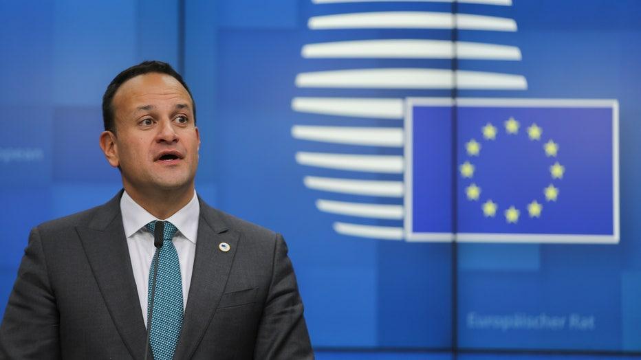 Leo Varadkar At The European Council