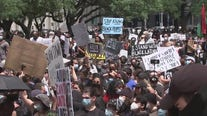 Hundreds protest for police reform at Houston City Hall