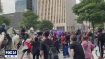 Dozens arrested during weekend protests in downtown Houston