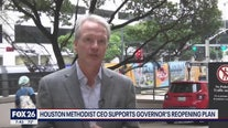 Houston Methodist CEO, Dr. Mark Boom talks about reopening Texas