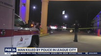 Man dies after officer-involved shooting in League City
