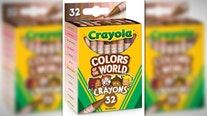 Crayola launches 24 skin tone crayons for inclusivity