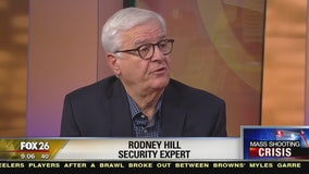Security expert Rodney Hill talks about the shooting at a California high school