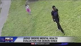Judge orders mental health evaluation for Derion Vence