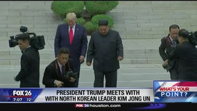 Trump steps into North Korea - What's Your Point?