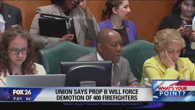220 firefighter pink slips - What's Your Point?