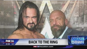 Drew McIntyre is back in the ring