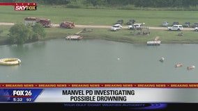 Manvel PD investigating possible drowning
