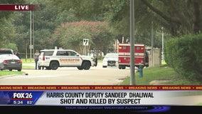 Harris County Sheriff's deputy shot and killed
