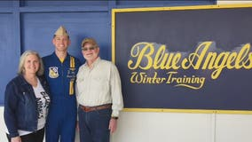 Blue Angels pilot from Kingwood is ready for first performance Wednesday