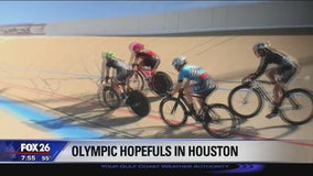 Olympic hopefuls in Houston