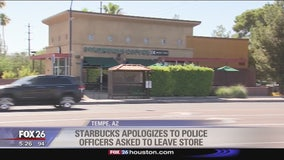Starbucks apologizes to police officers that were asked to leave store after customer felt unsafe