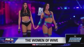 Coco Dominguez chats with women of WWE