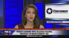Police looking into alleged hazing incident in Montgomery ISD