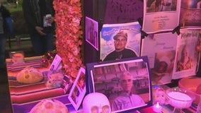 Discovery Green builds community altar for Dia de los Muertos