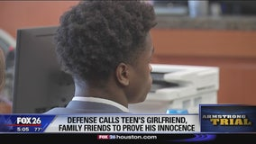 Defense calls teen's girlfriend, family friends to prove his innocence