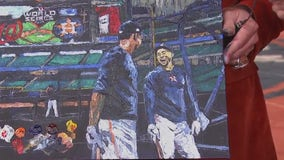 Opie Otterstad introduces Astros painting ahead of Game 6 of World Series