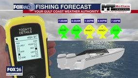 Fishing forecast- Saturday, May 23