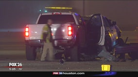 Deputy constable injured in crash with suspected drunk driver