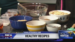 Healthy recipes with Fit Foodie Le