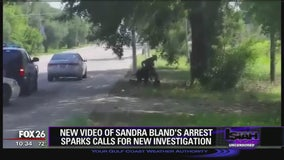 New video of Sandra Bland's arrest sparks calls for new investigation