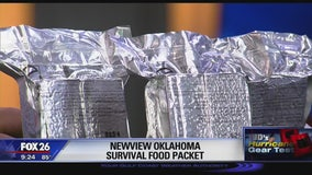 Newview Oklahoma Survival Food Packet
