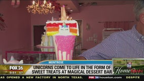 Unicorns come to life in the form of sweet treats at Magical Dessert Bar