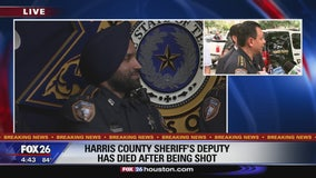 Harris County Sheriff's Deputy has died after being shot