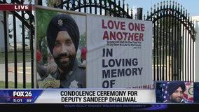 Condolence Ceremony for Deputy Sandeep Dhaliwal