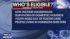 Details released about who is eligible for Harris County $30 million relief fund