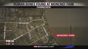 Human bones found at Moncrief Park in Channelview