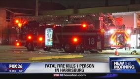 Fatal fire kills 1 person in Harrisburg