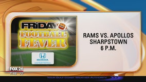 The Waltrip Rams and Sharpstown Apollos show their Friday Football Fever