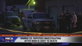 Harris Co. deputies investigating after man is shot to death