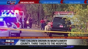 Two children drown in Montgomery County, third taken to hospital