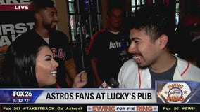 Astros fans at Lucky's Pub excited for Game 6