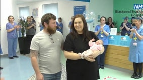 Baby born with COVID-19 discharged with mother as both make full recovery