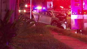 HCSO: 2 dead after chase suspect crashed into bicyclist, car