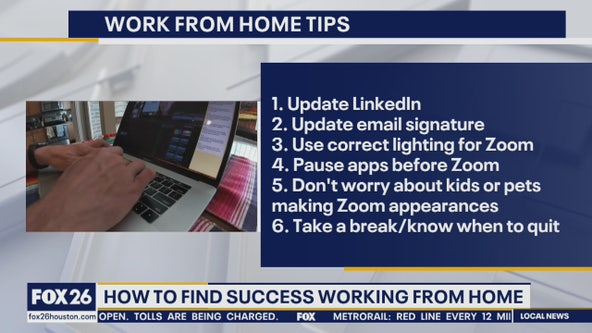 Dayna Steele offers work at home success tips