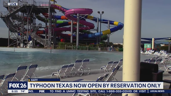 Typhoon Texas water park opens this weekend by appointment