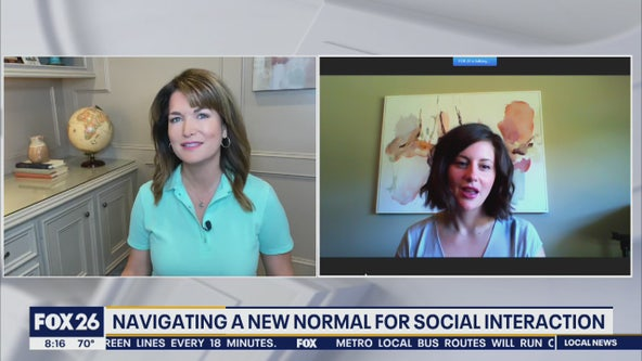 Navigating a new normal for social interaction