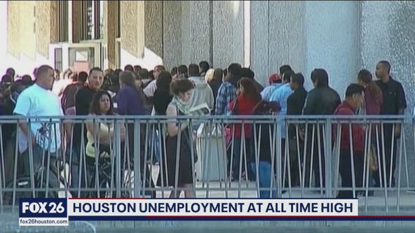Houston unemployment at an all time high- What's Your Point?