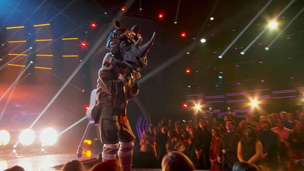 World Series champion revealed as the Rhino on 'The Masked Singer'