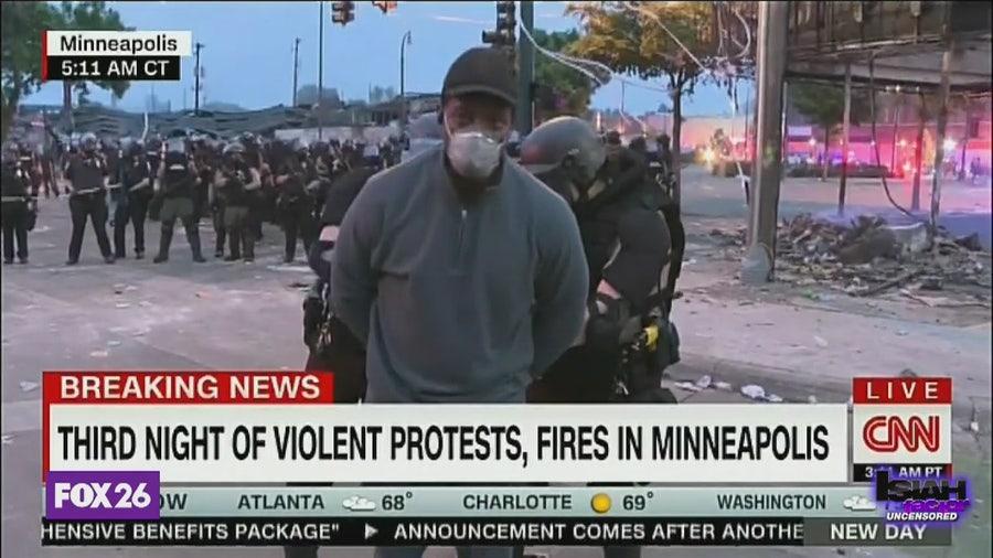 Journalists react to shocking arrest of CNN correspondent