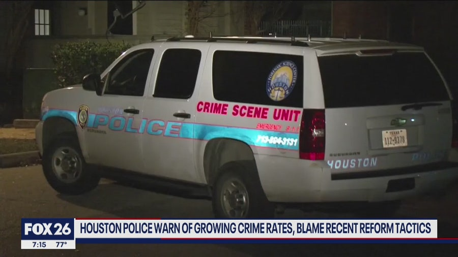 Houston's crime rate is up is it economic or justice reform- What's Your Point?