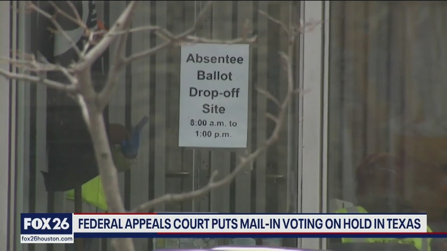Mail-in voting battle continues in Texas - What's Your Point?